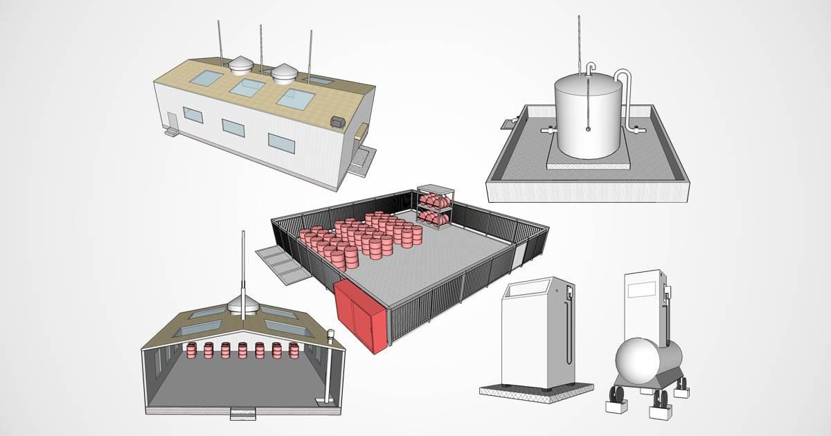 貯蔵 所 屋内 ガソリン・アルコールなどの保管に 危険物貯蔵庫|システム建築|大和リース
